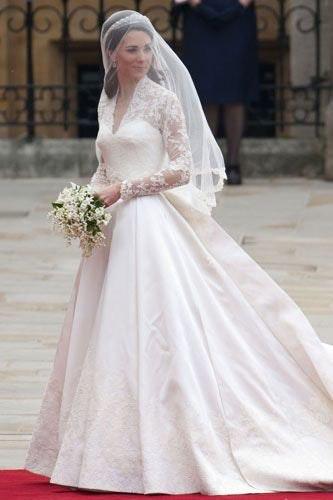Zara Phillips Wedding Dress 50s