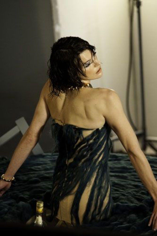 Milla Jovovich's Campari Calendar Shoot