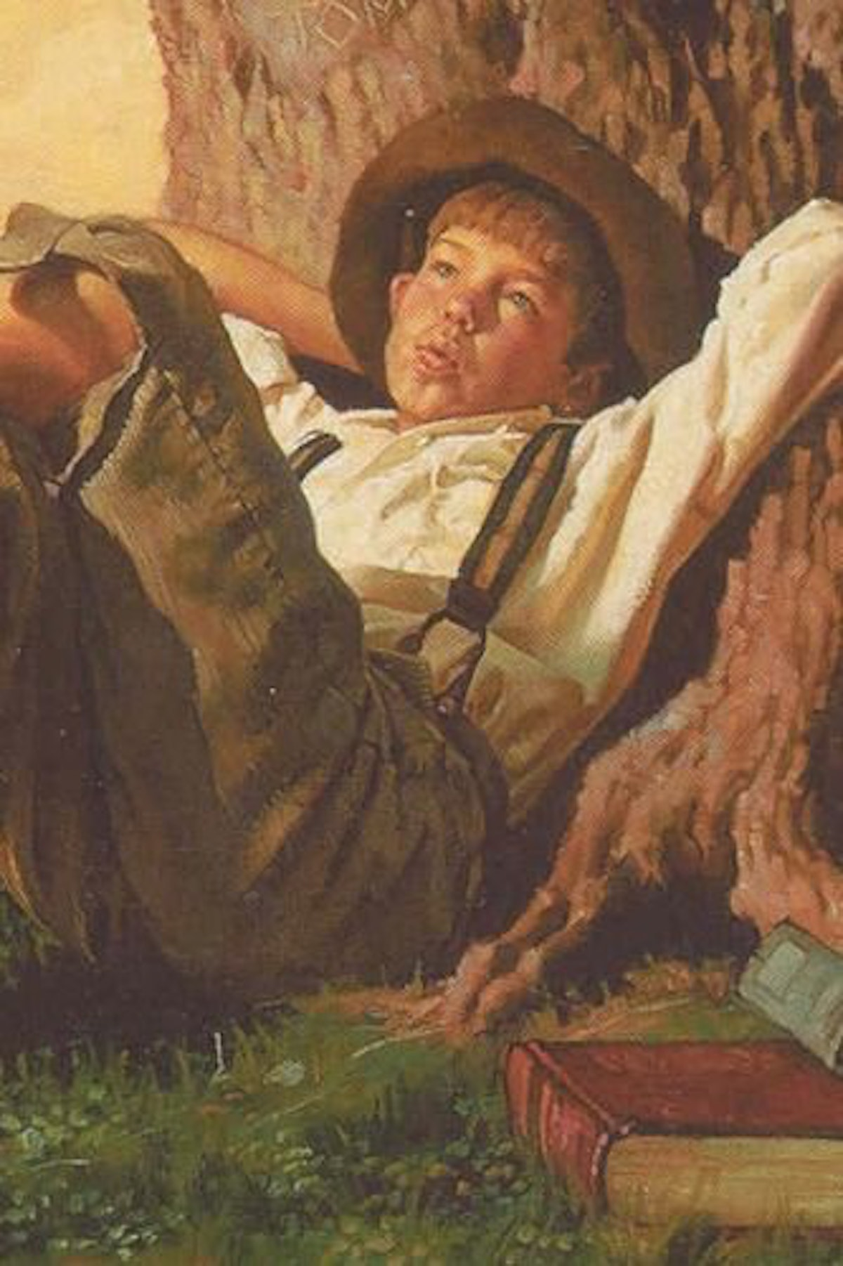 the adventure of tom sawyer idiom Google is proud to partner with libraries to digitize public domain materials and  make them widely accessible public domain books belong to the public and we .