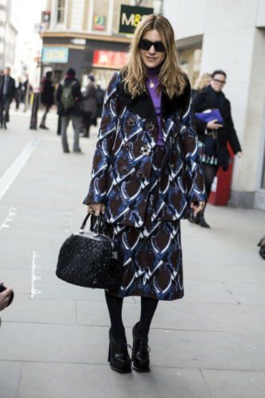 London Fashion Week Street Style Photos Day 4 Autumn Winter 2013 Stylist