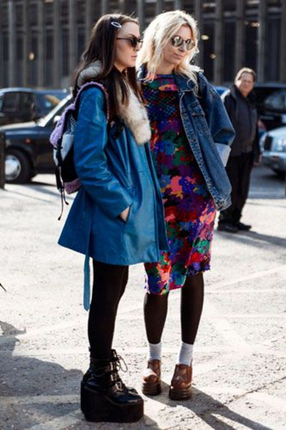 London Fashion Week Street Style Photos Day 5 Autumn Winter 2013 Stylist