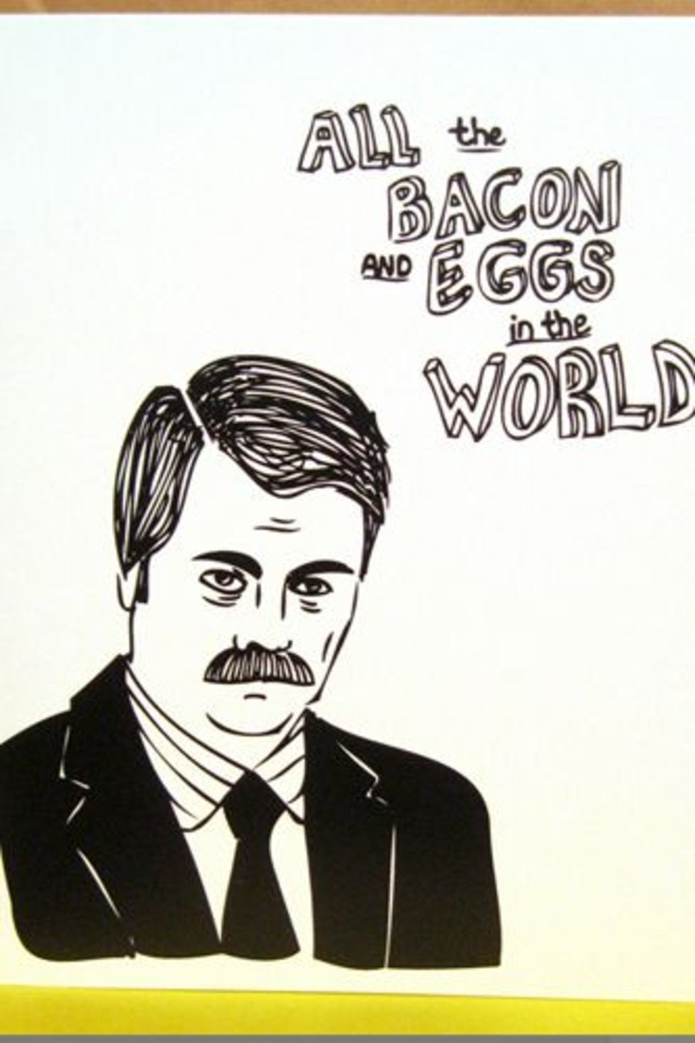 Toll Lovely Ron Swanson Valentines Contemporary   Valentine Gift Ideas .