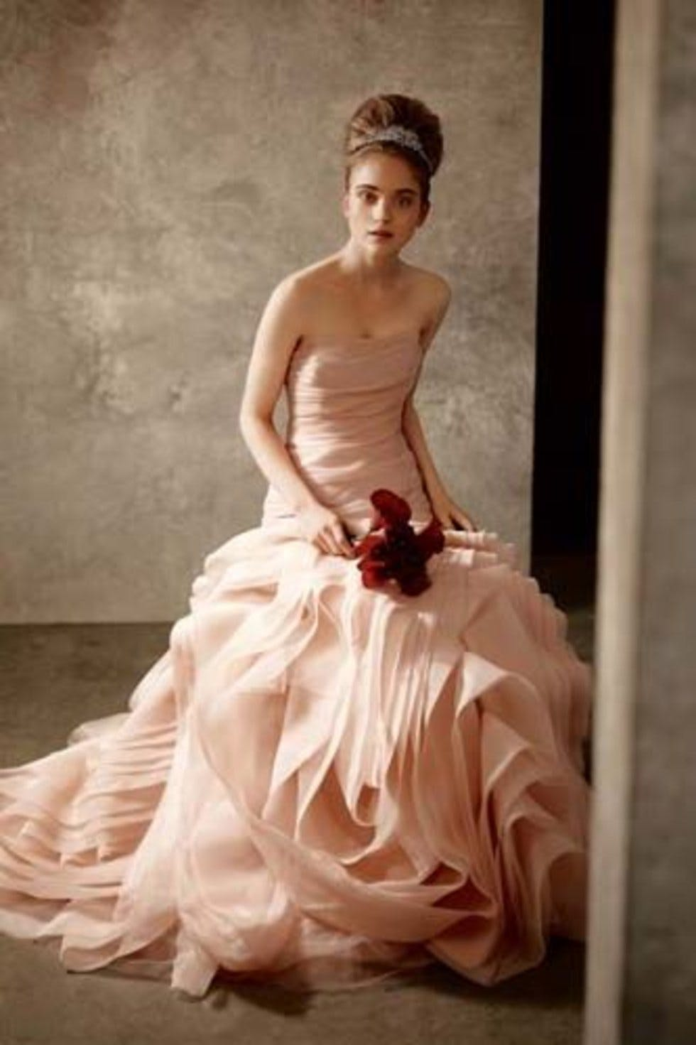 Pink wedding dresses | Stylist
