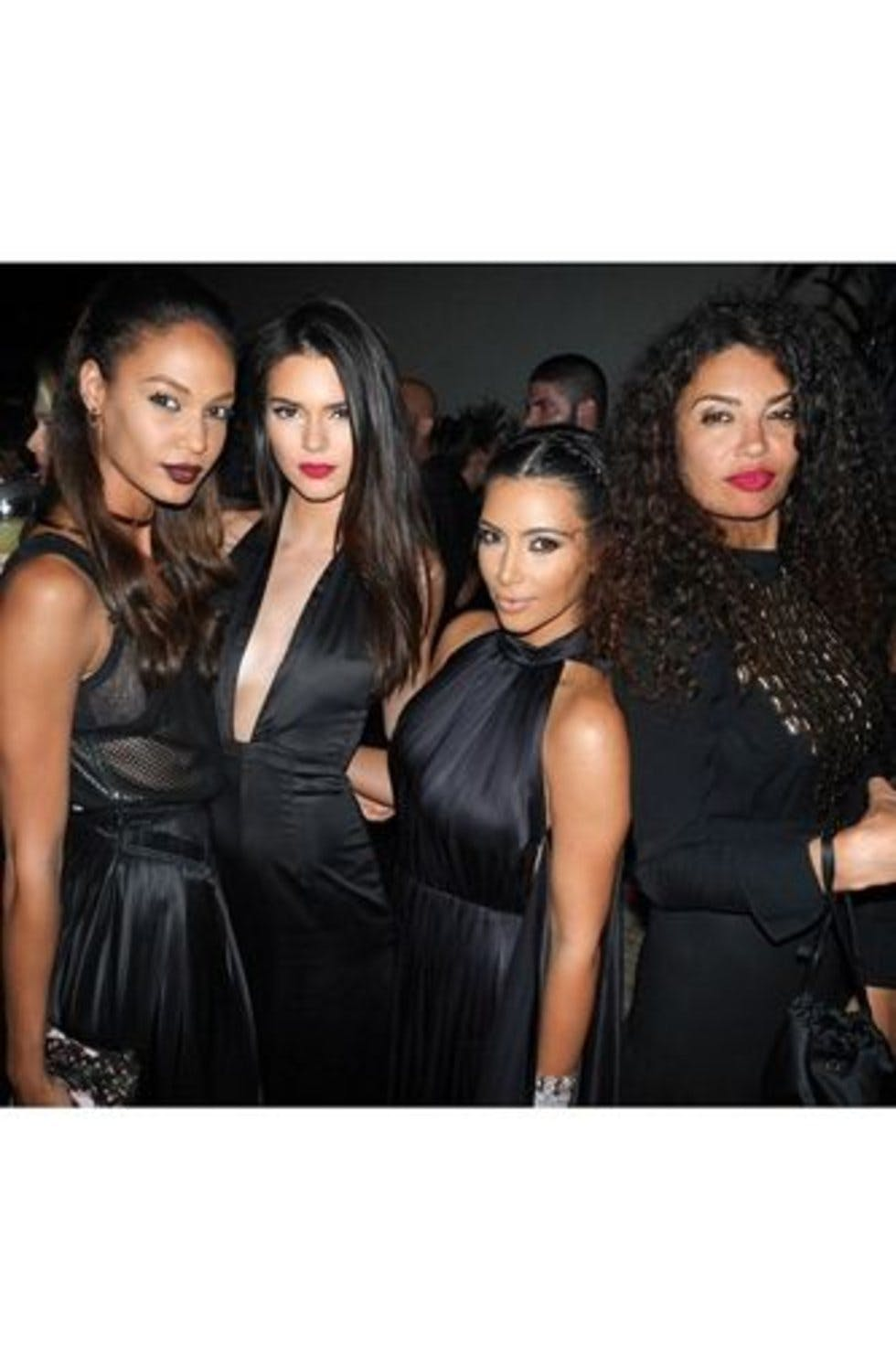 Kate Moss, Kim Kardashian and Naomi Campbell party in ...