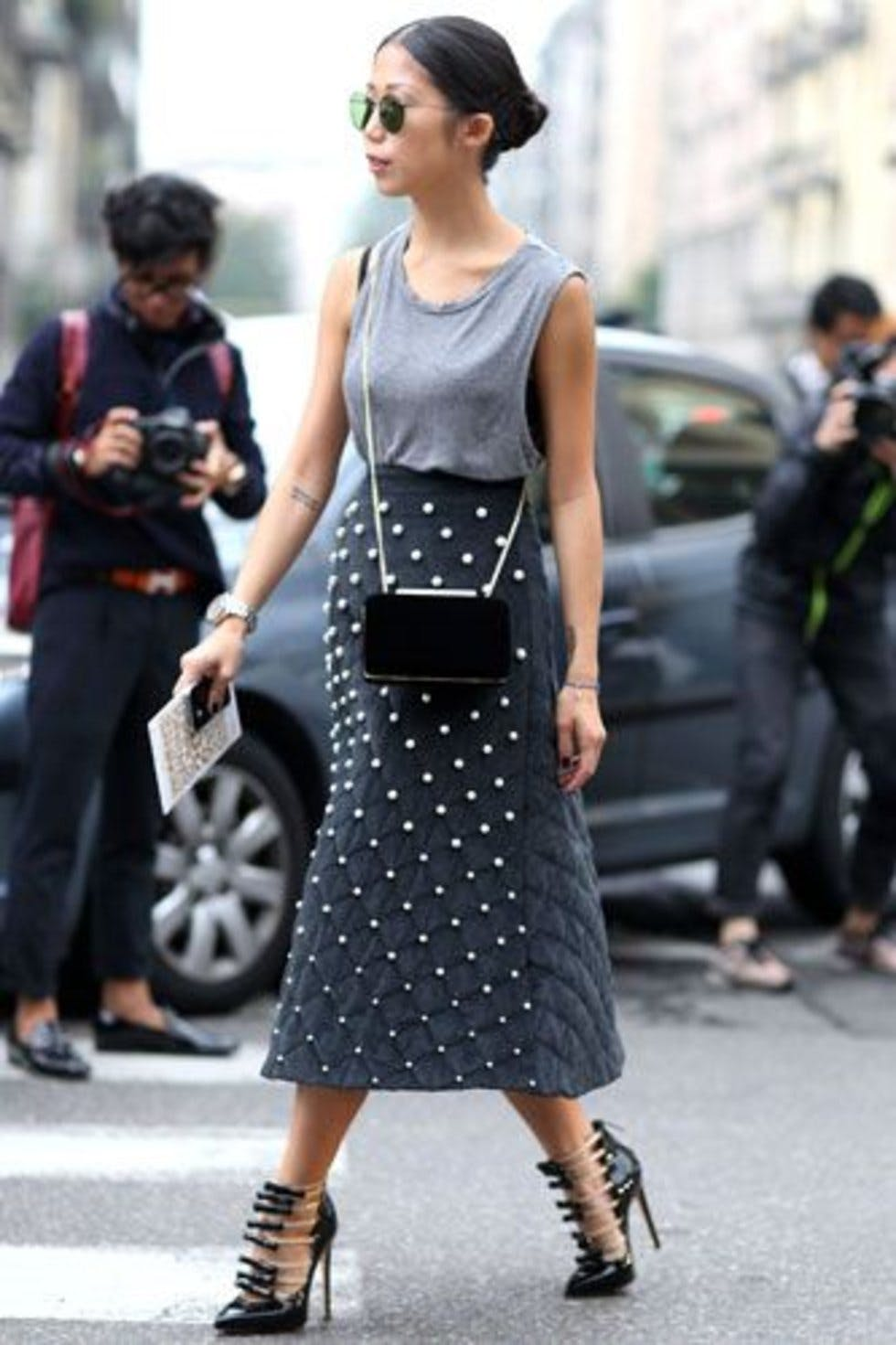 Latest Street Style Pictures From Milan Fashion Week Street Style Ss15 Stylist