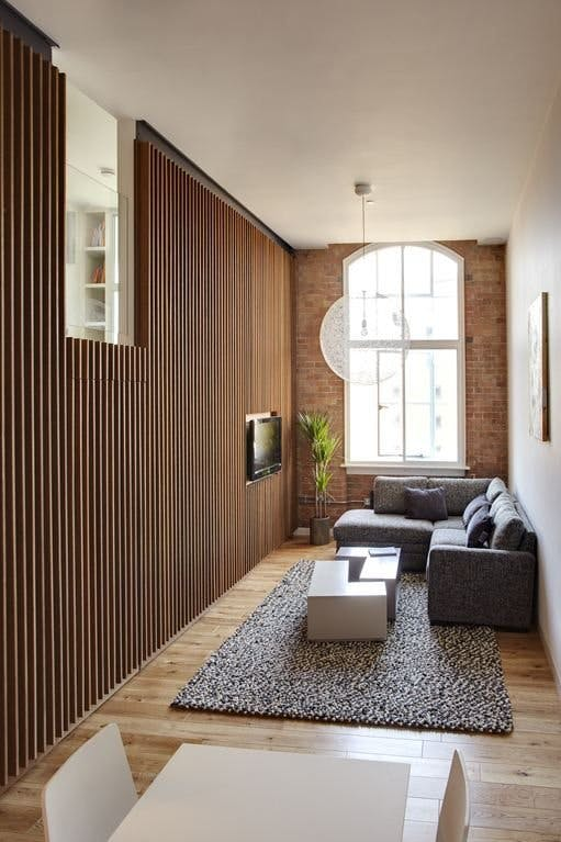The most stylish small space apartments studios and lofts for Inspire apartments