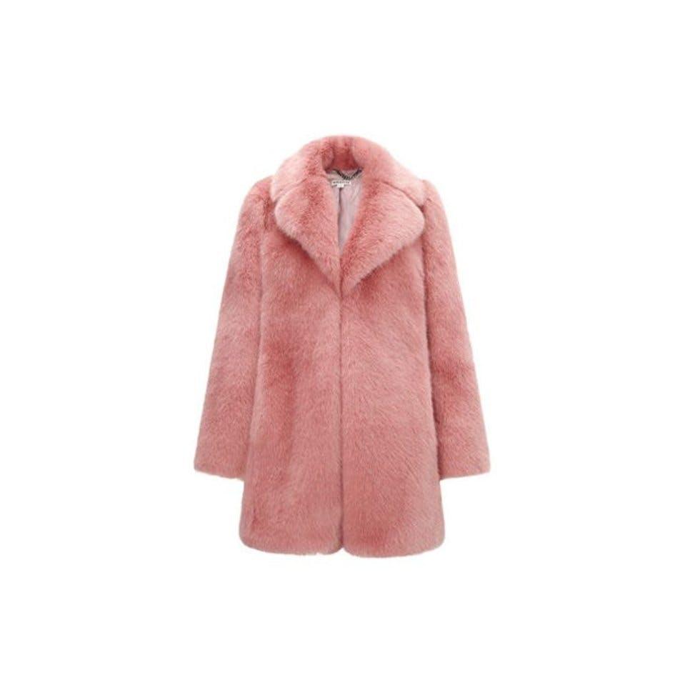 2e46d52d713 Kumiko Faux Fur Coat