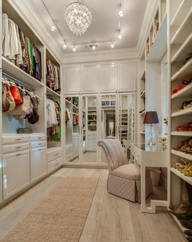 The Most Beautiful Walk In Wardrobes And Closets To Give