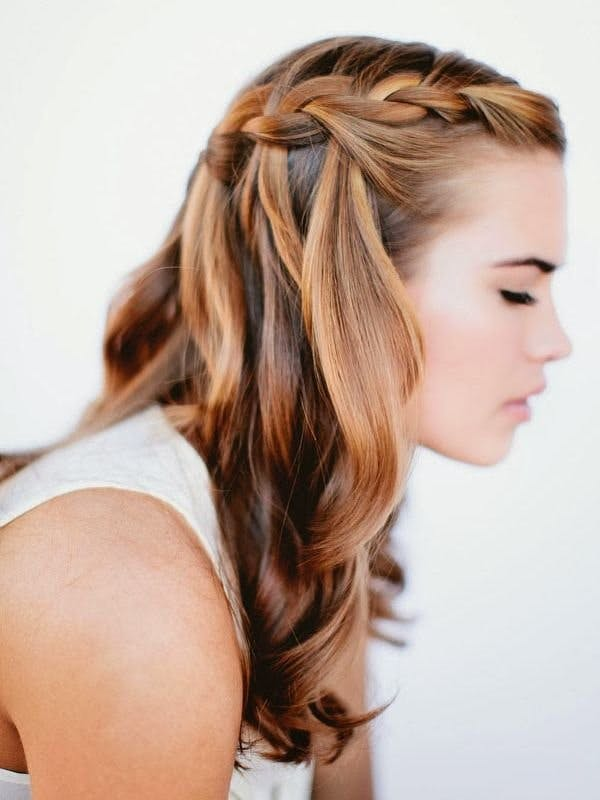 30 quick and easy hair tutorials for every hair length stylist waterfall braids solutioingenieria Image collections