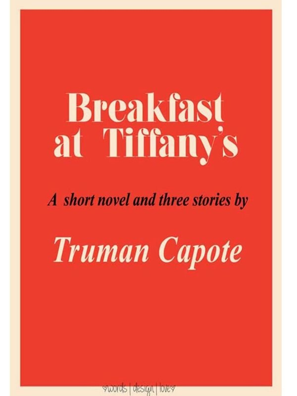 a plot and character analysis of truman capotes novel breakfast The spirited heroine of truman capote's most famous book is a bewitching blend of many different characters, including of breakfast at tiffany's by truman.