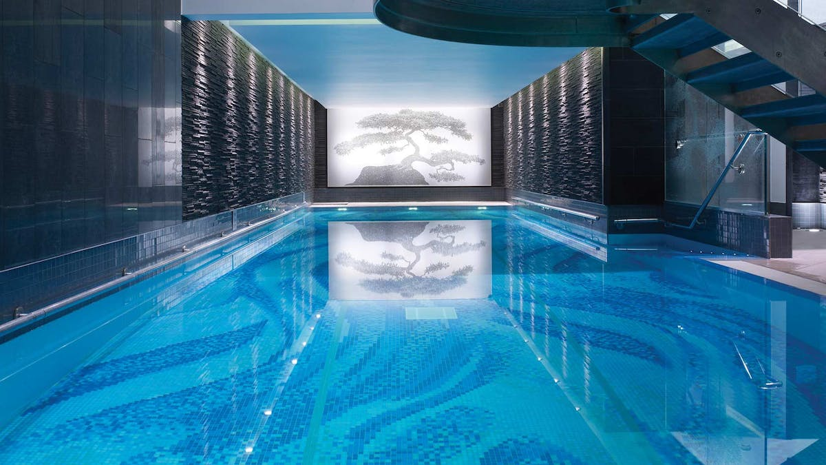 Once Upon A Time The Langham S 16 Metre Bat Pool Was Bank Vault Those With Membership Can Admire Its Majestic Structure As They Pound Lengths