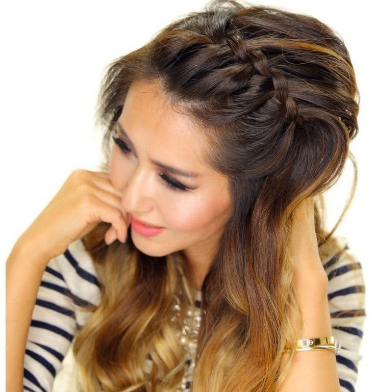 20 Beautiful Hair Braids That Are Deceptively Easy To Create