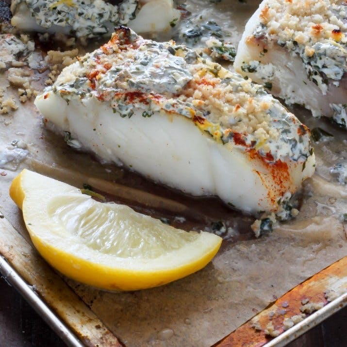 50 quick healthy meal recipe ideas you can make in under for Herb cod recipe