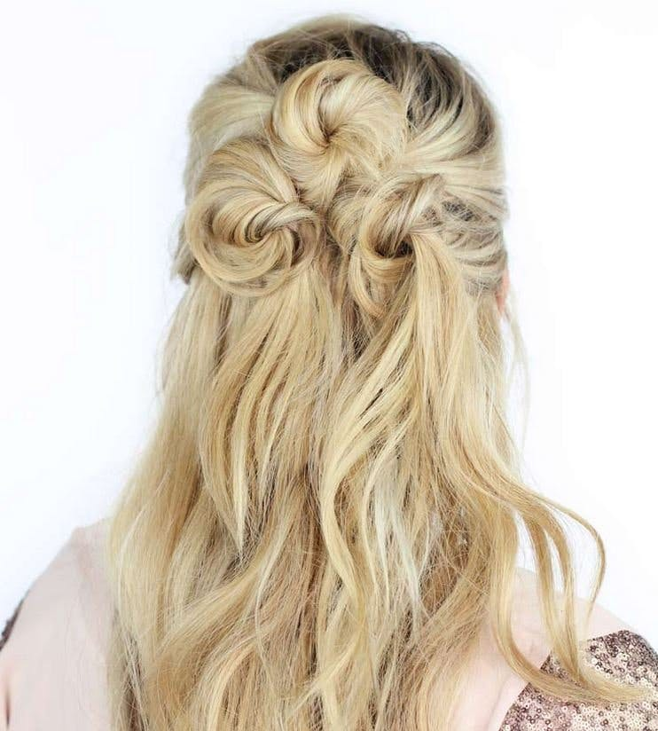 From Soft Waves To Messy Updos 20 Beautiful Boho Wedding Hairstyles