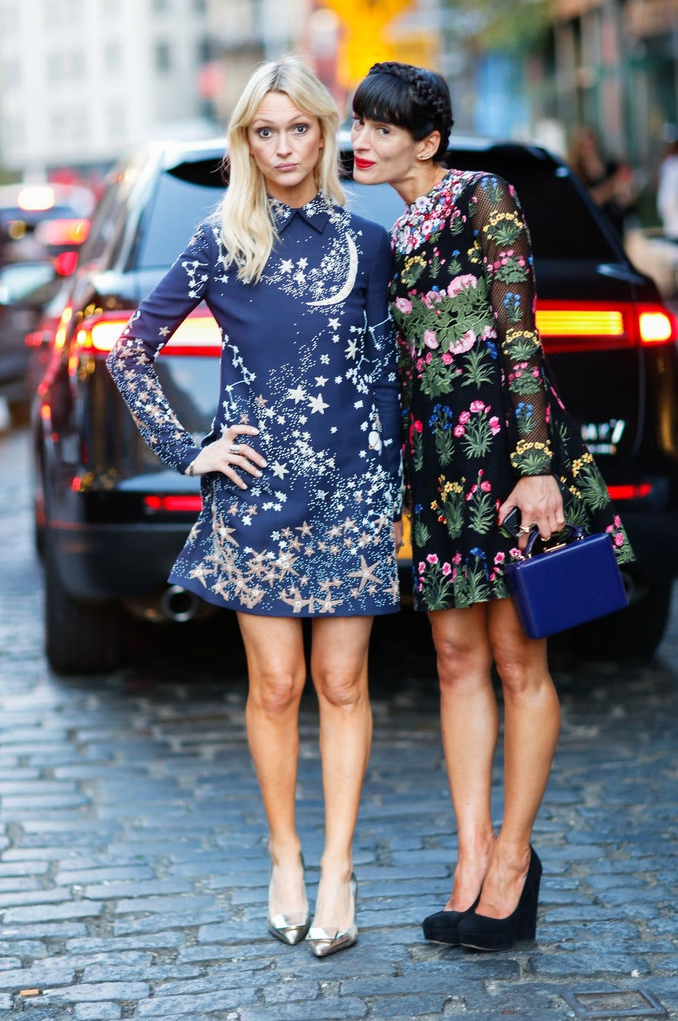 Bright Pops Of Colour Rule Street Style At New York Fashion Week Stylist