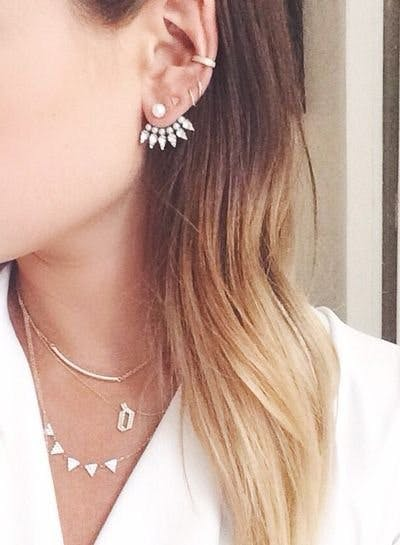 Statement Earring And Orted