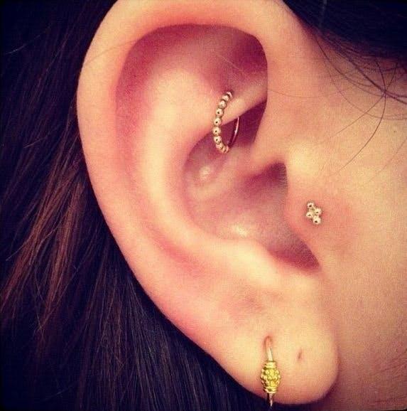Unique And Beautiful Ear Piercing Ideas Stylist