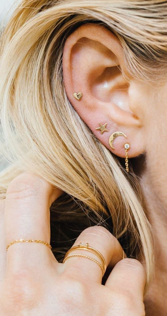 Unique and Beautiful Ear Piercing Ideas | Stylist