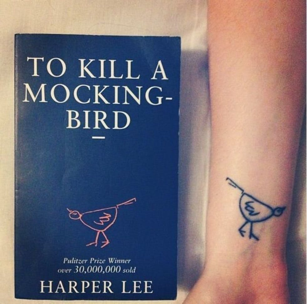 Beautiful And Subtle Literary Tattoos To Reference Your