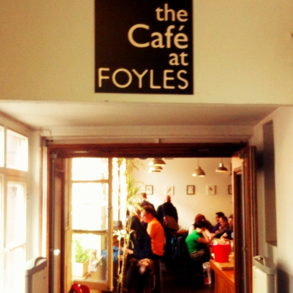 Foyles Cafe Opening Times