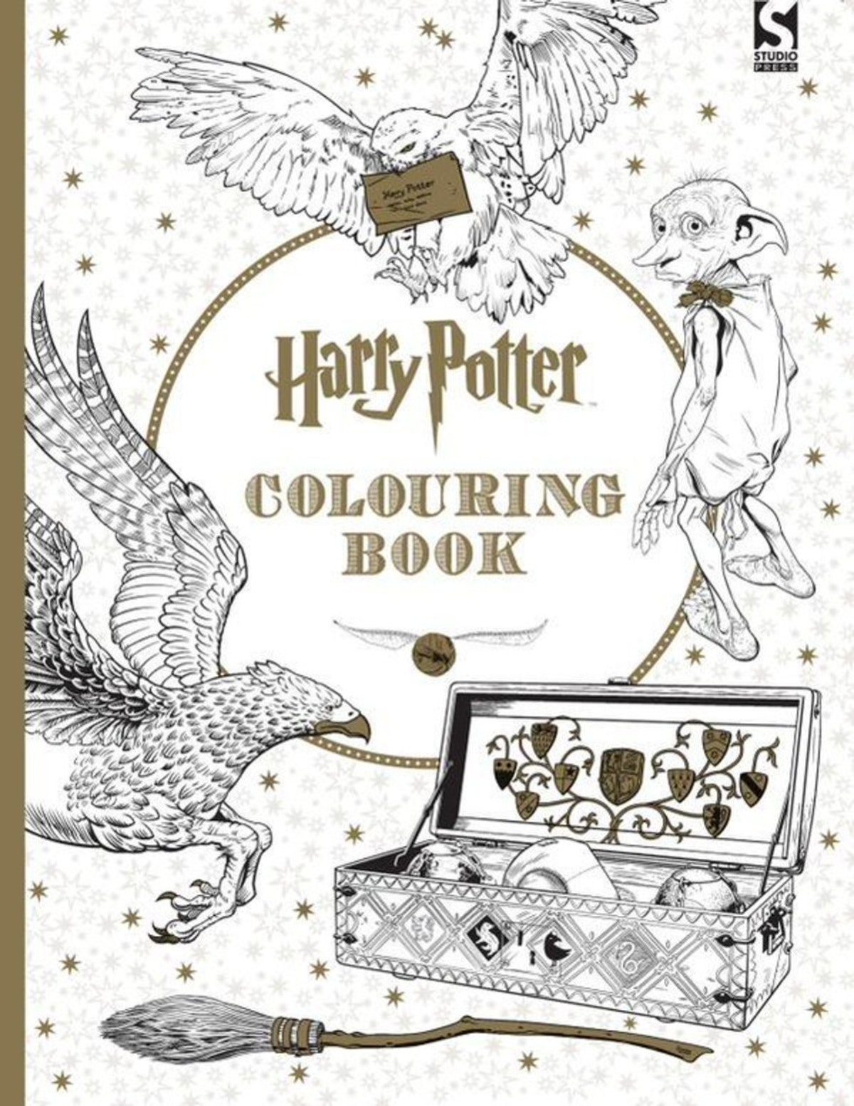 the best colouring books for adults for a relaxing christmas and