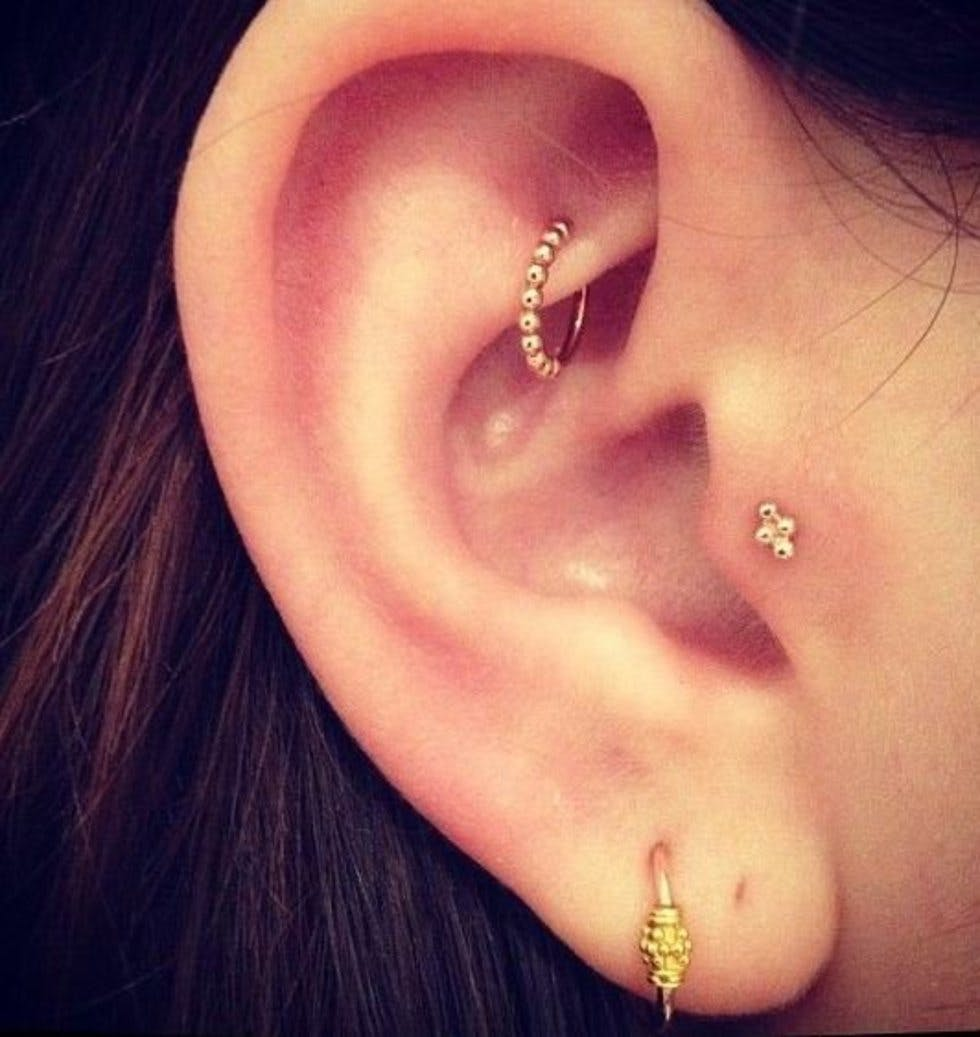 The 50 most unique multiple ear piercing ideas stylist assorted pooptronica Choice Image