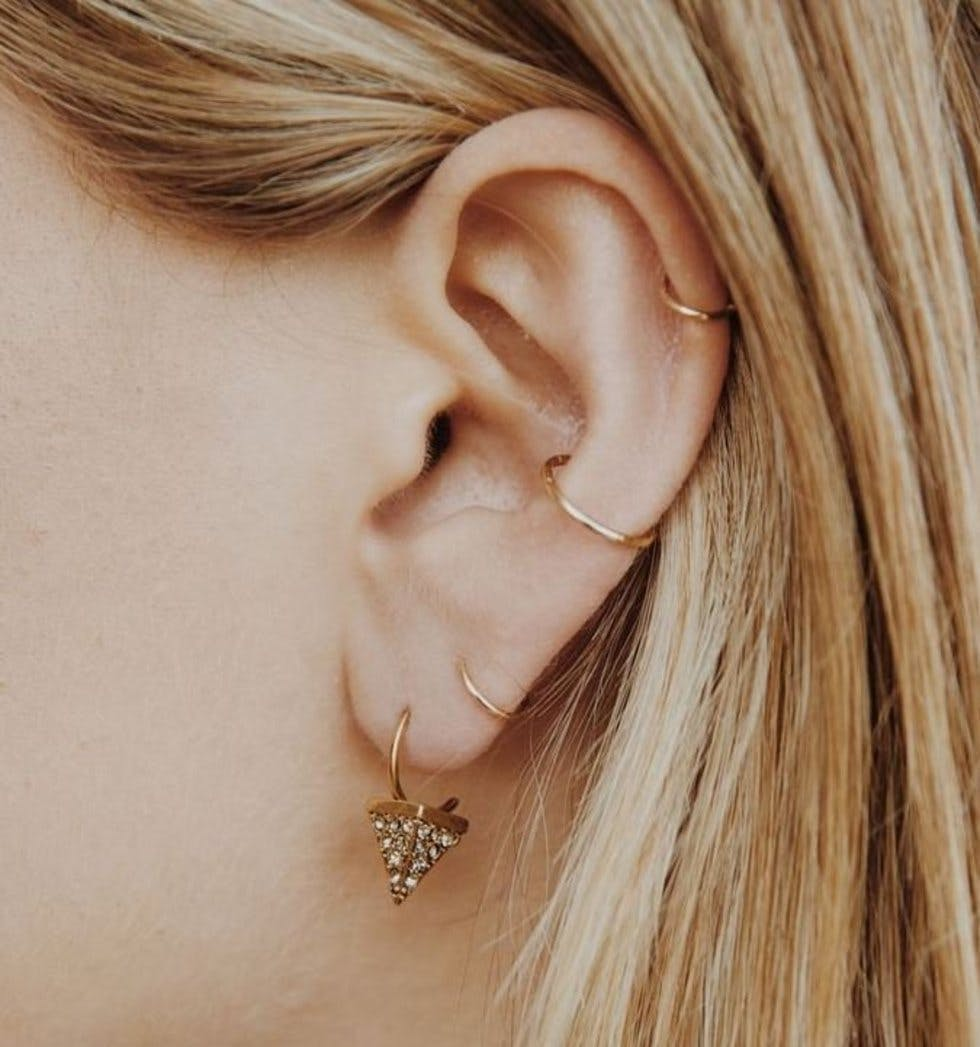 The 50 Most Unique Multiple Ear Piercing Ideas Stylist