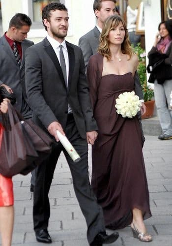 Matrimonio In Puglia Justin Timberlake : Celebrities as bridesmaids from jennifer lawrence to