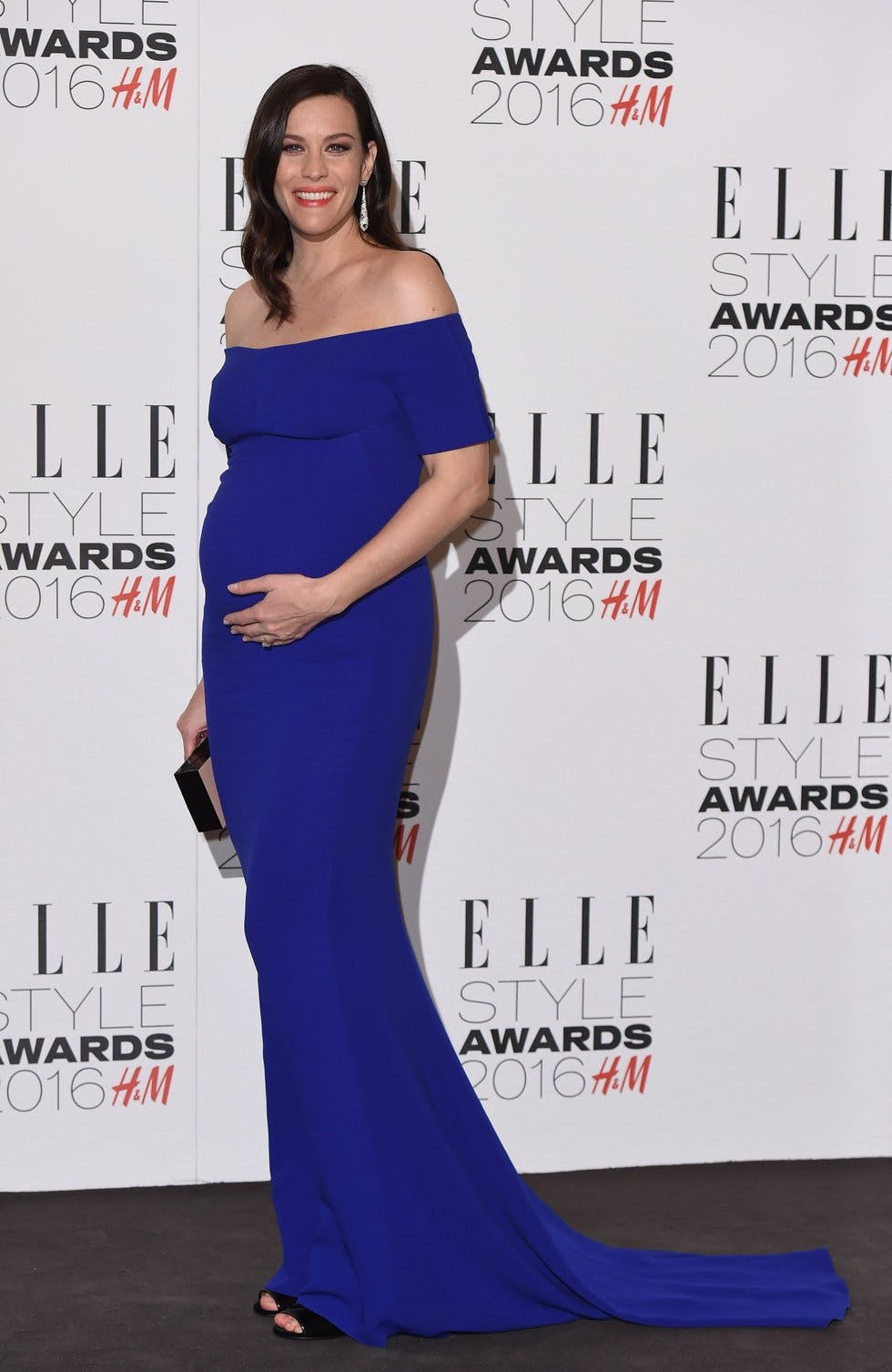 The actress rocked a figure-hugging Stella McCartney gown at the Elle Style  Awards in London. cb1701c44