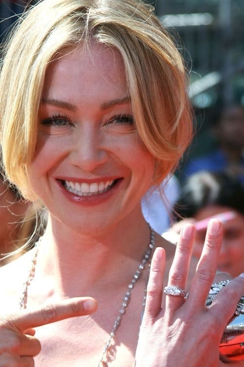 Celebrity Engagement Rings Portia De Rossi