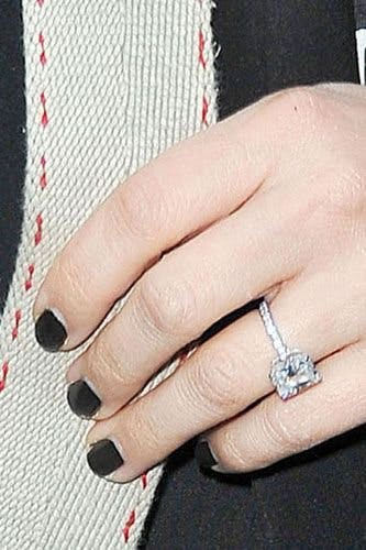 Celebrity Engagement Rings Drew Barrymore