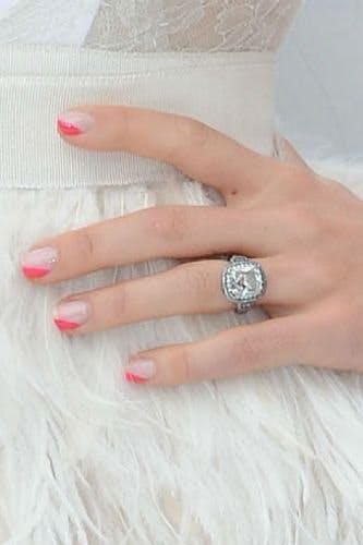 Celebrity Engagement Rings Jessica Biel