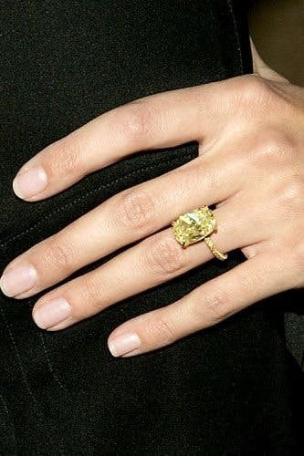The Most Stunning And Spectacular A List Engagement Rings