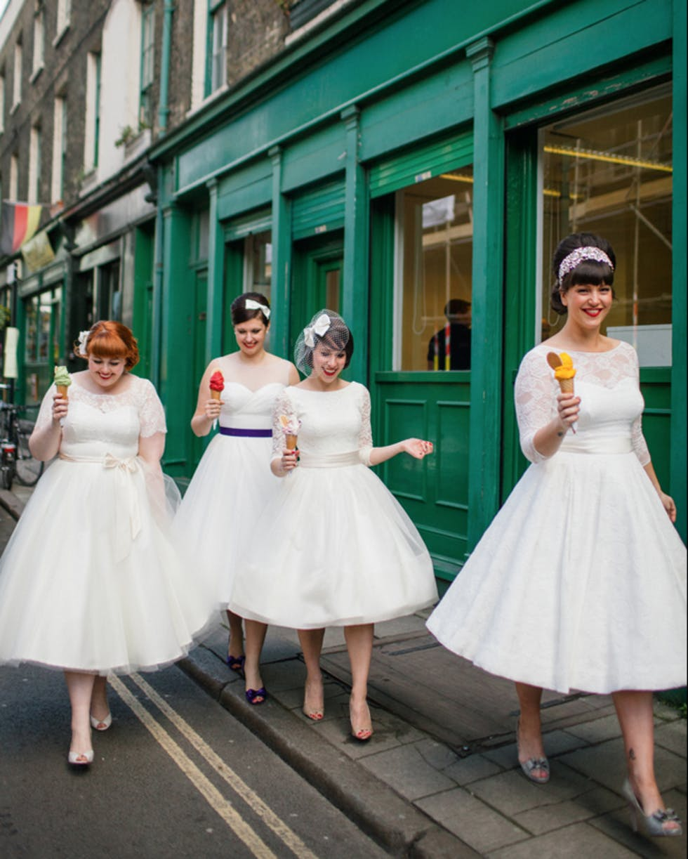 Vintage Wedding Dresses In London: The Stylist Wedding Blog: The Top 10 Alternative Bridal