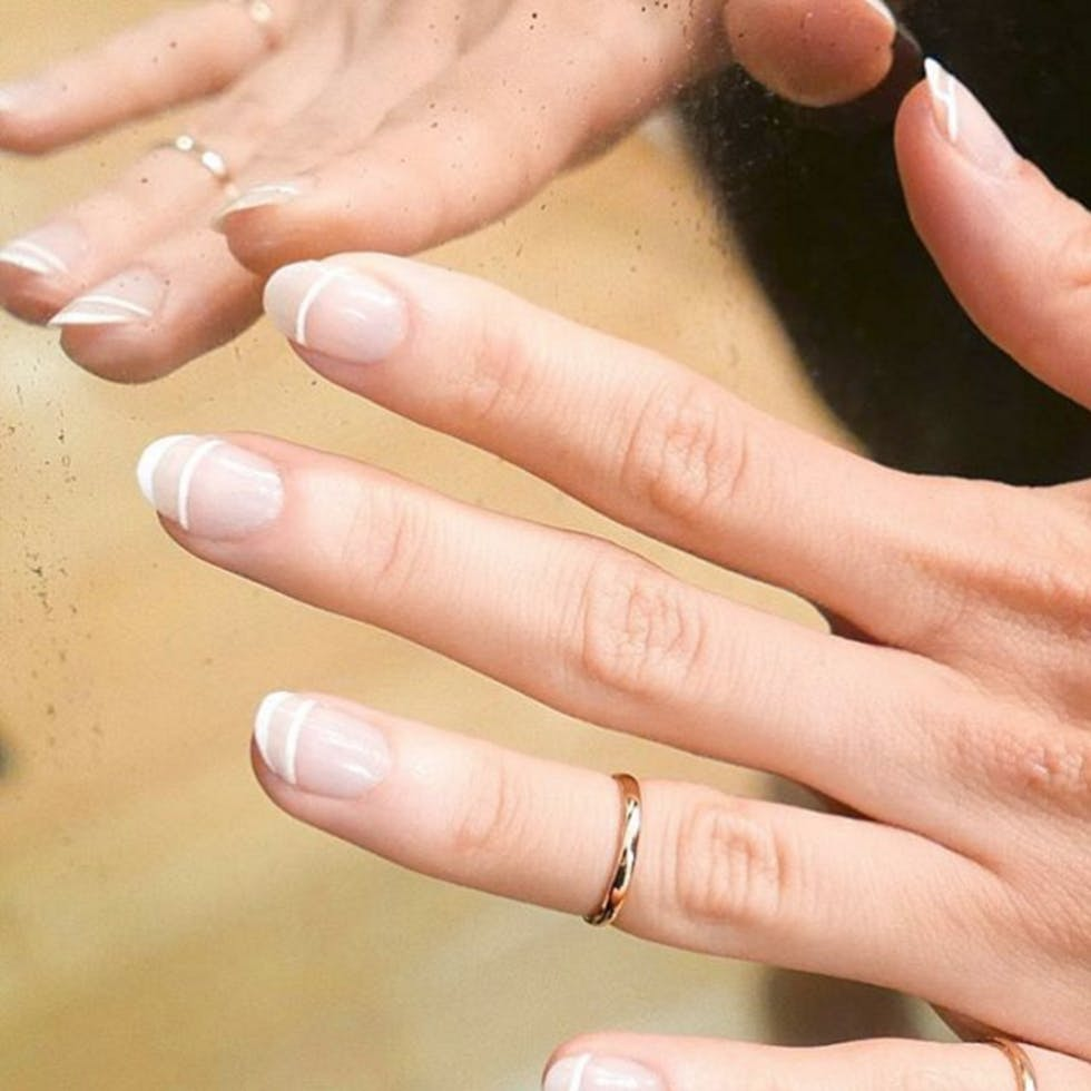 Minimalist nail art: 15 chic upgrades to the classic French manicure ...
