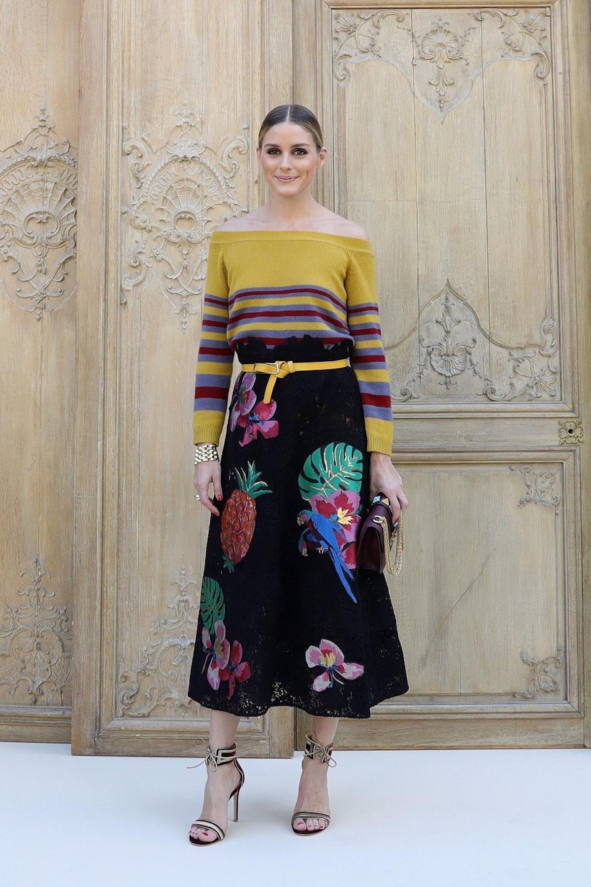 Front row stars at Paris Fashion Week