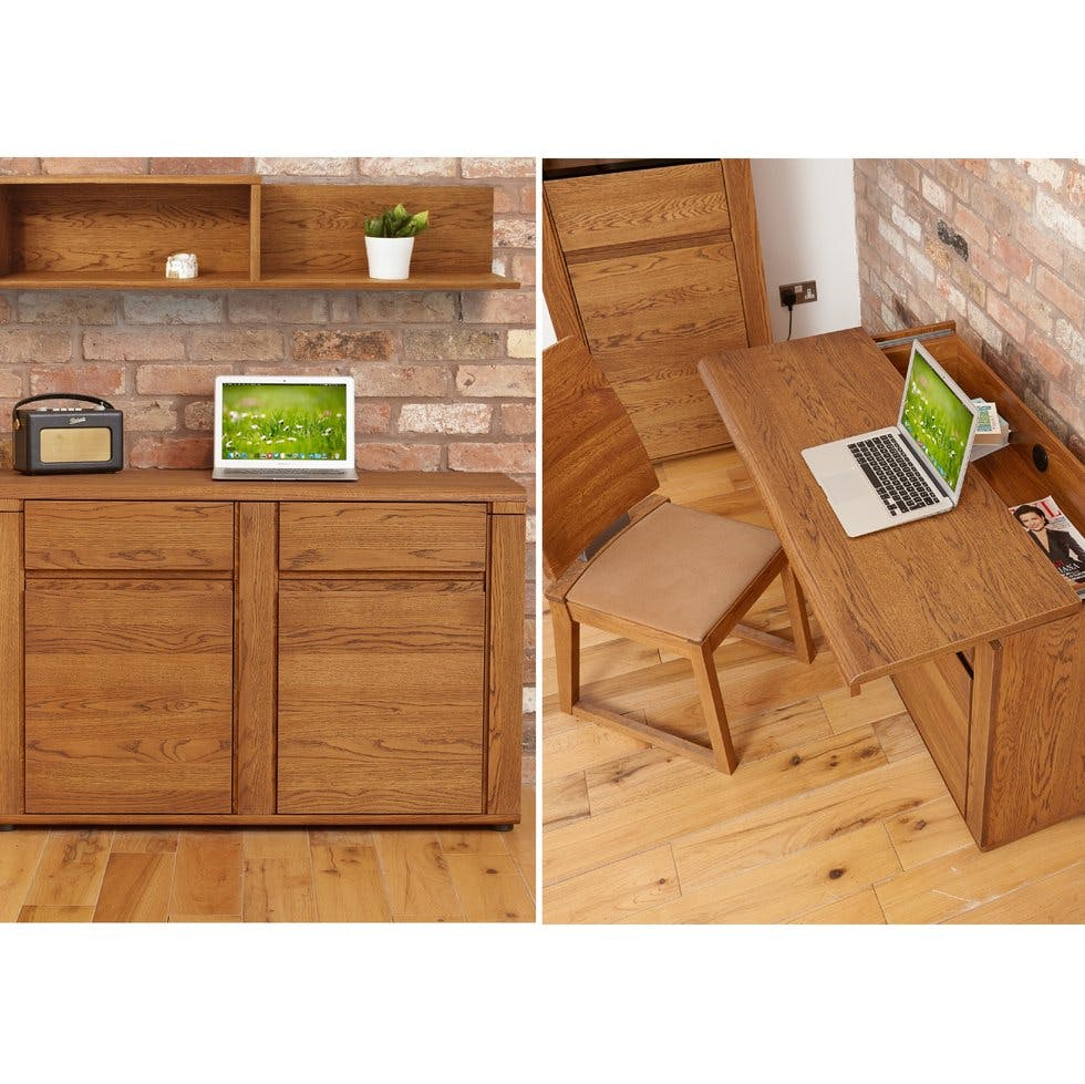 Living Spaces Office Furniture: Hidden And Pop-up Home Office Inspiration To Fit Any