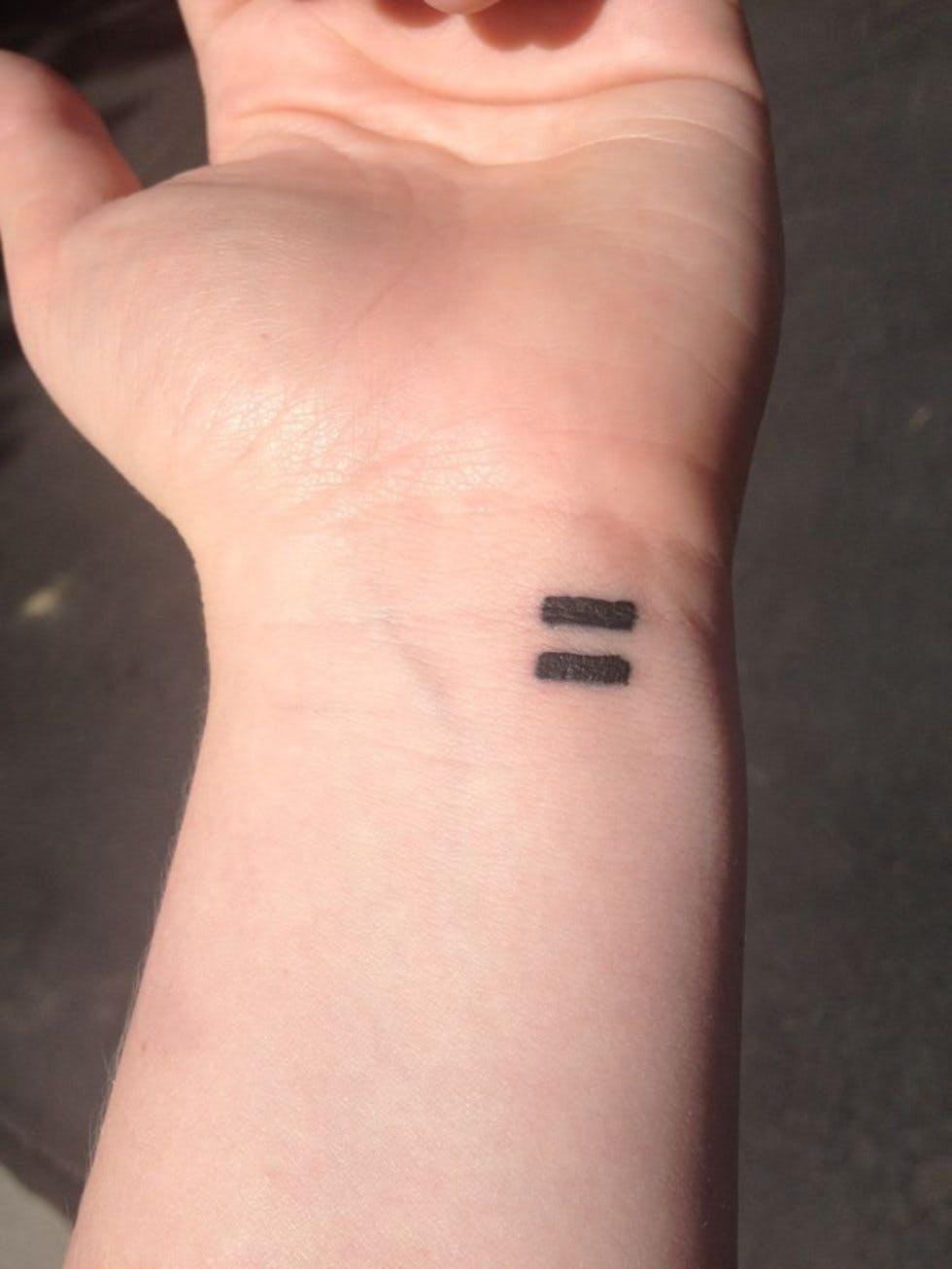37 Discreet And Beautiful Feminist Inspired Tattoos Stylist
