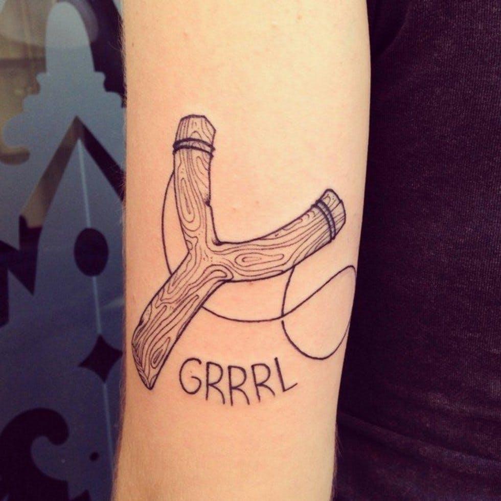 37 discreet and beautiful feminist inspired tattoos stylist slingshot tattoo buycottarizona