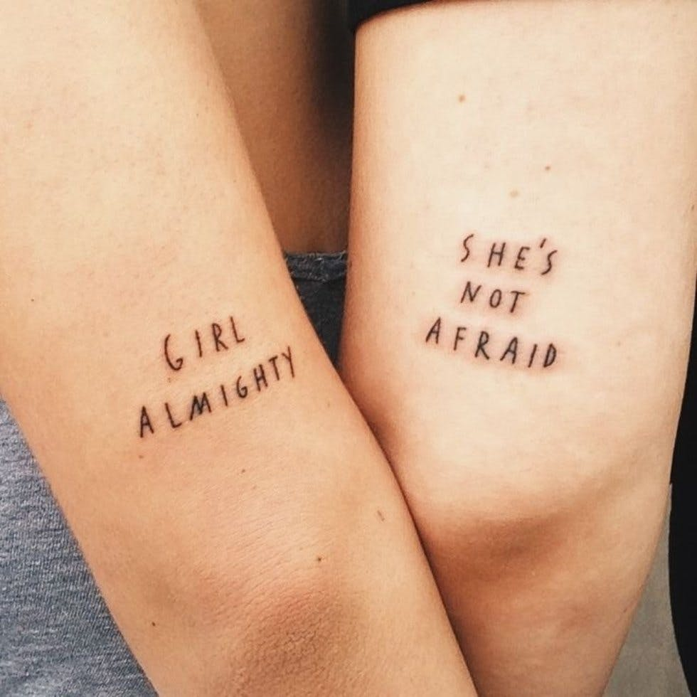 37 Discreet And Beautiful Feminist Inspired Tattoos Stylist