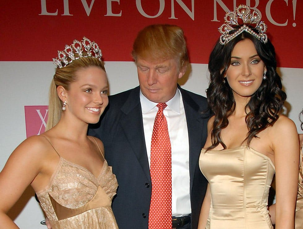 Former Miss Arizona: Trump came strolling right in to
