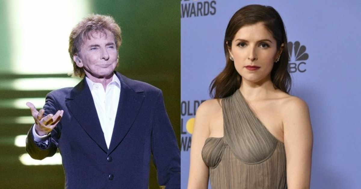 """Anna Kendrick has the best response to people saying they """"already knew"""" Barry  Manilow was gay"""