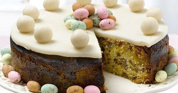 Divine Chocolate Simnel Cake