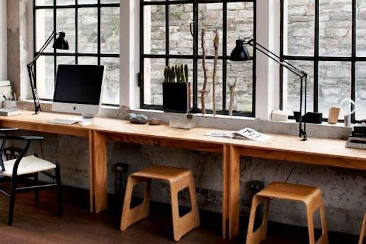 Creative Home Office chic and creative home office designs that the most of limited