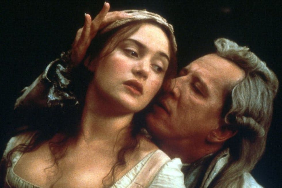 The story of the Marquis de Sade's imprisonment in an insane asylum sees  Kate Winslet as the maid with the hoiked up baps, Joaquin Phoenix as the  smoking ...