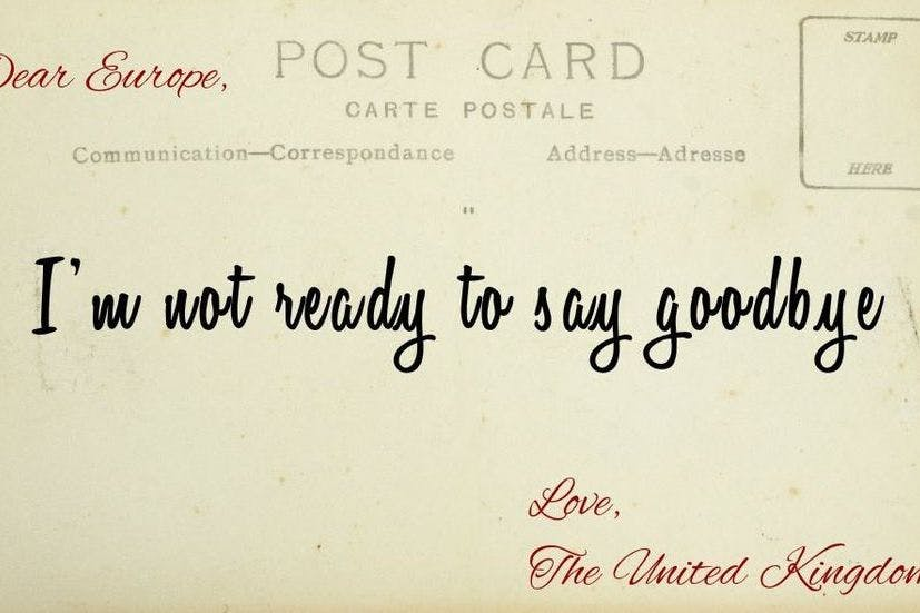 Lets still be friends our farewell letters to the european union our farewell letters to the european union spiritdancerdesigns Choice Image