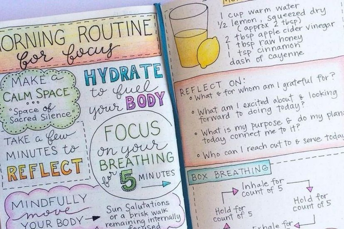 Could Starting A Bullet Journal Ease Your Anxiety Stylist
