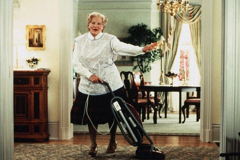 the unfair decision of the judge in mrs doubtfire a movie