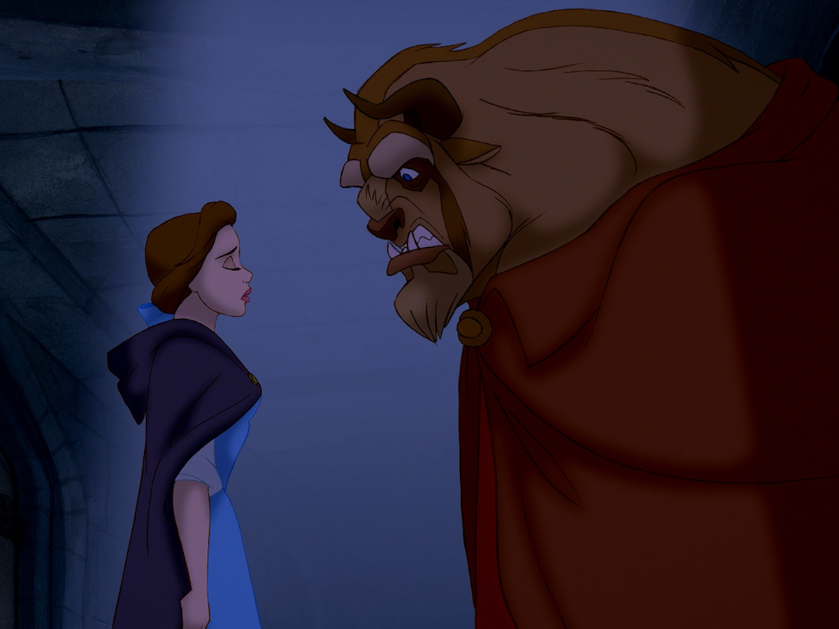 an analysis of feminism and chauvinism in beauty and the beast The original french beauty and the beast (1756) with all human costs hidden and an attractive feminist gloss added to co-opt an audience certain to include many women and daughters if they learn to love the prince and enjoy the righteous rout of gaston's loutish male chauvinism.