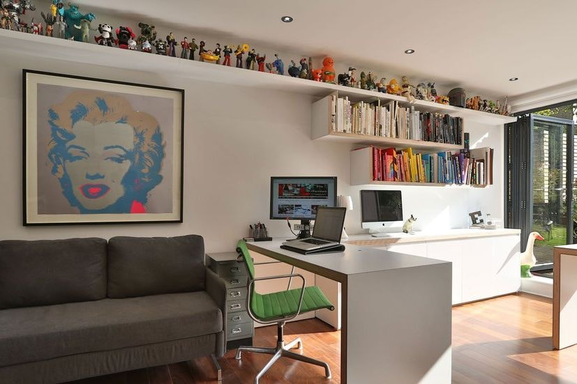 creative home office. Fine Creative Creative Home Office Designs For Freelance Inspiration And Home Office